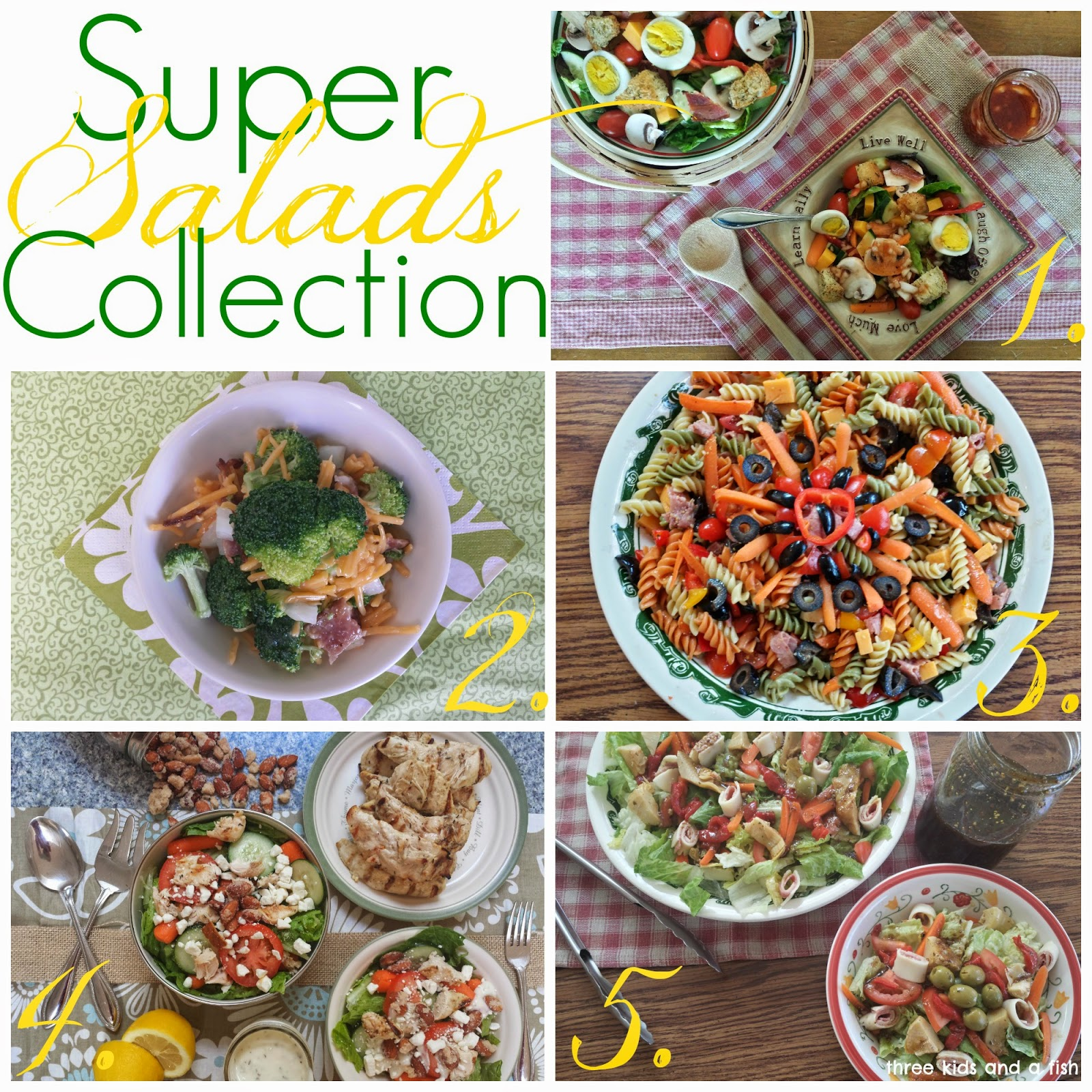 super salads collection
