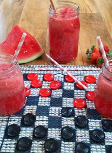 Strawberry Watermelon Spritzer