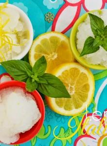 lemon Italian ice