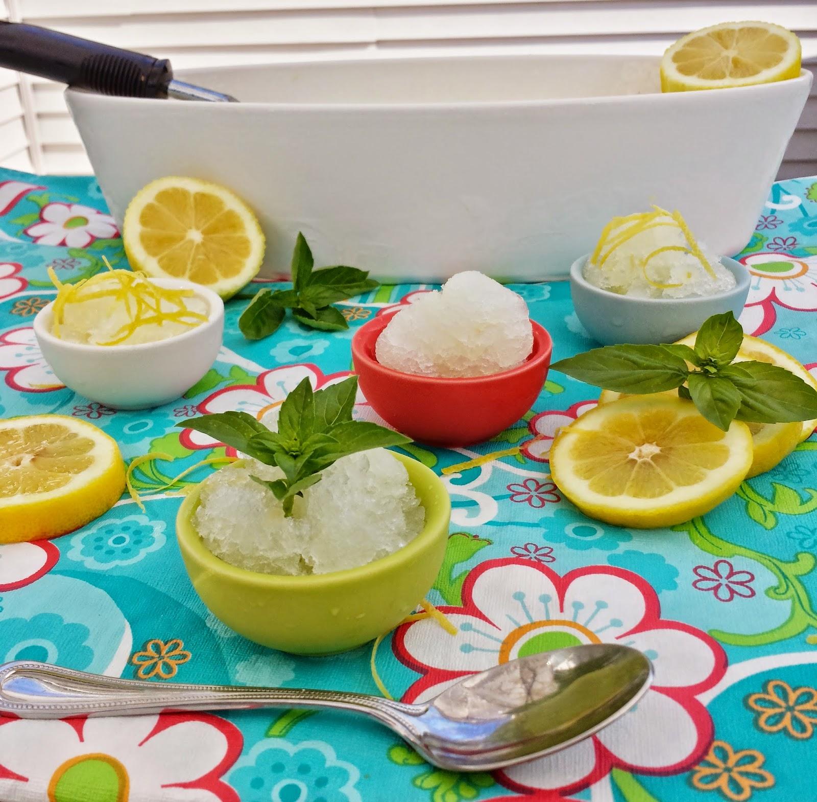 Lemon Italian Ice - Three Kids and a Fish