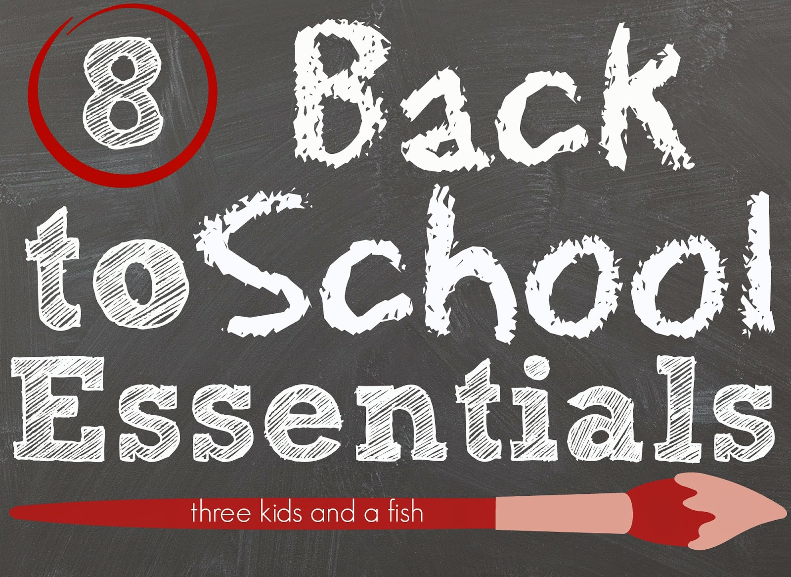 8 back to school essensials