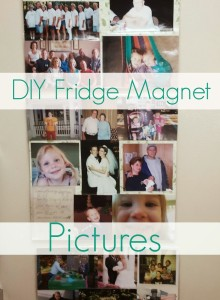 DIY Fridge Magnet Pictures