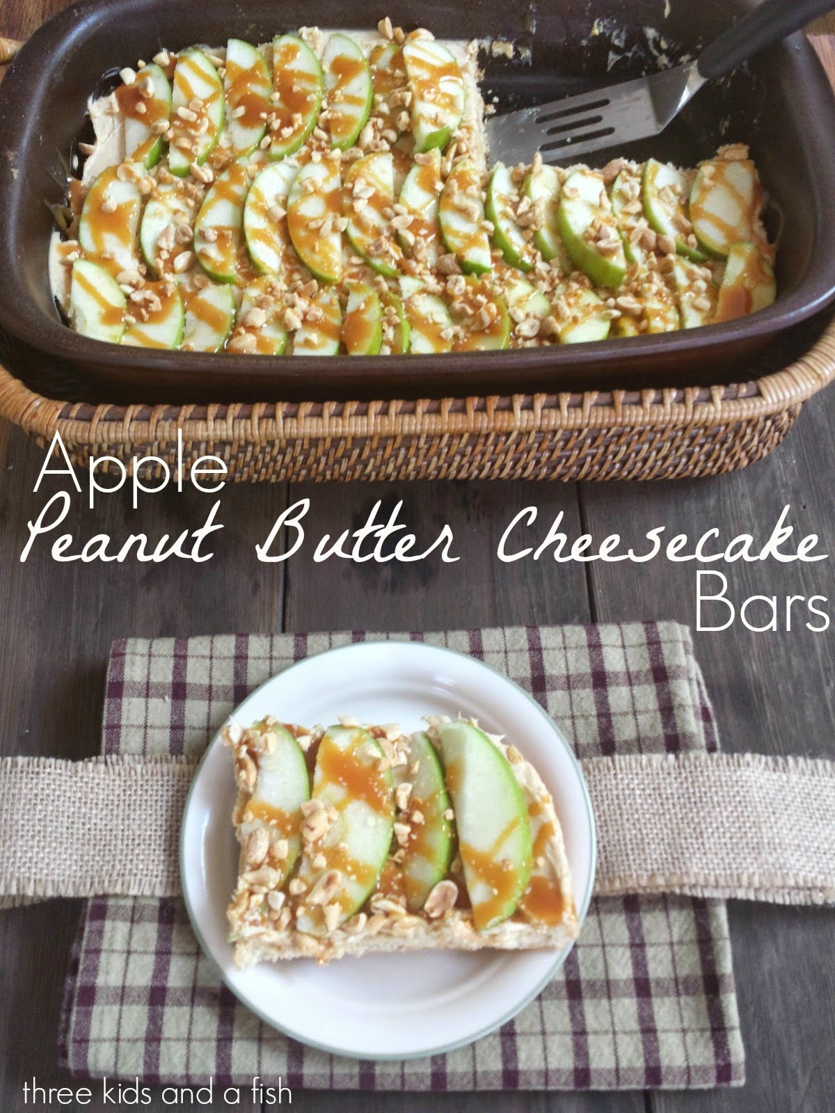 apple peanut butter cheesecake dip