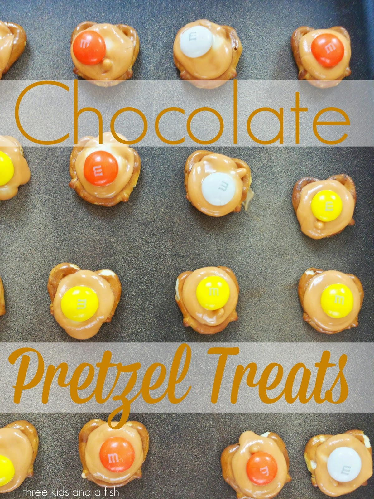 chocolate pretzels treats recipe