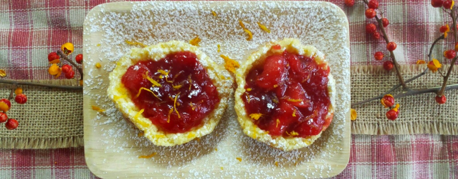 Mini Apple Cranberry Popovers - Three Kids and a Fish