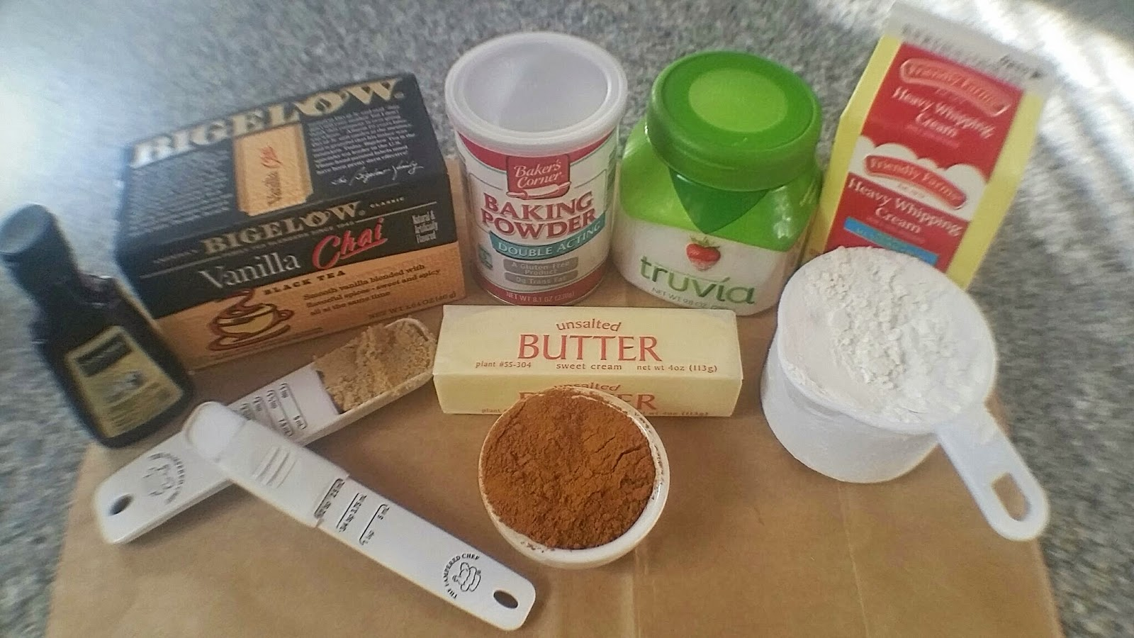 ingredients for scone
