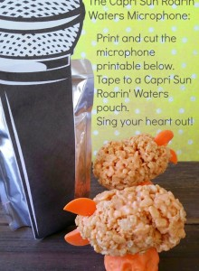 Capri Sun Roarin' Waters Microphones & Rice Crispy Blimp Awards