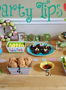 Spring into Easter party tips & sweet treats