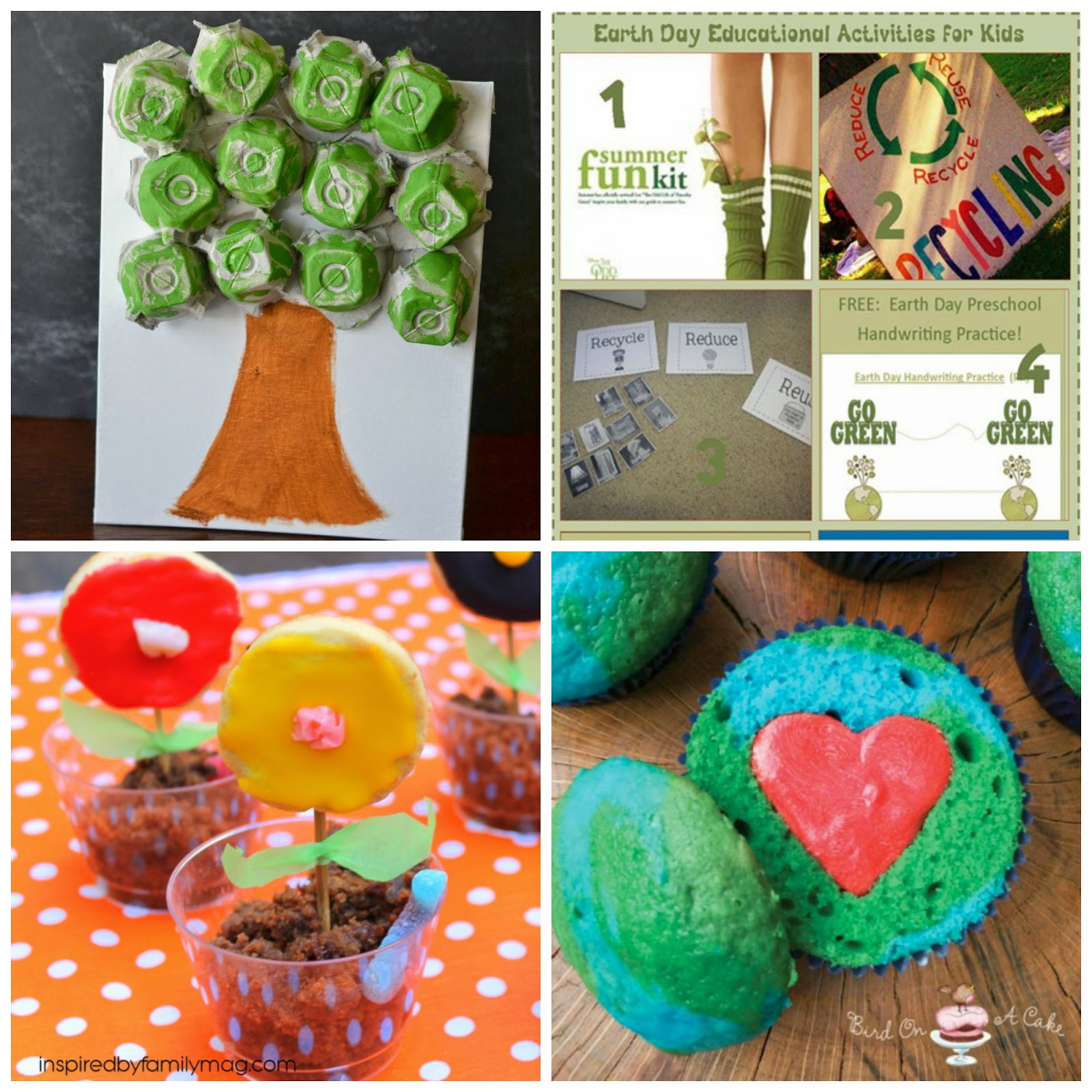 earth day activities and treats