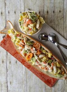 Seafood Tortellini Salad