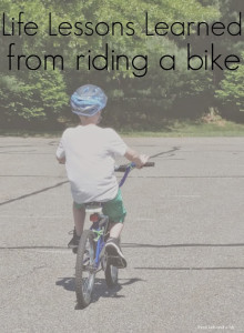 Life Lessons Learned From Riding A Bike