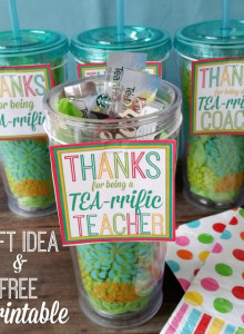 Teacher & Coach Appreciation Gift