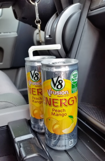 v8 fusion + energy drink