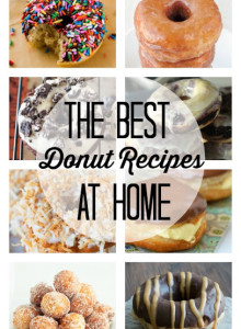 The Best Donut Recipes At Home-National Doughnut Day