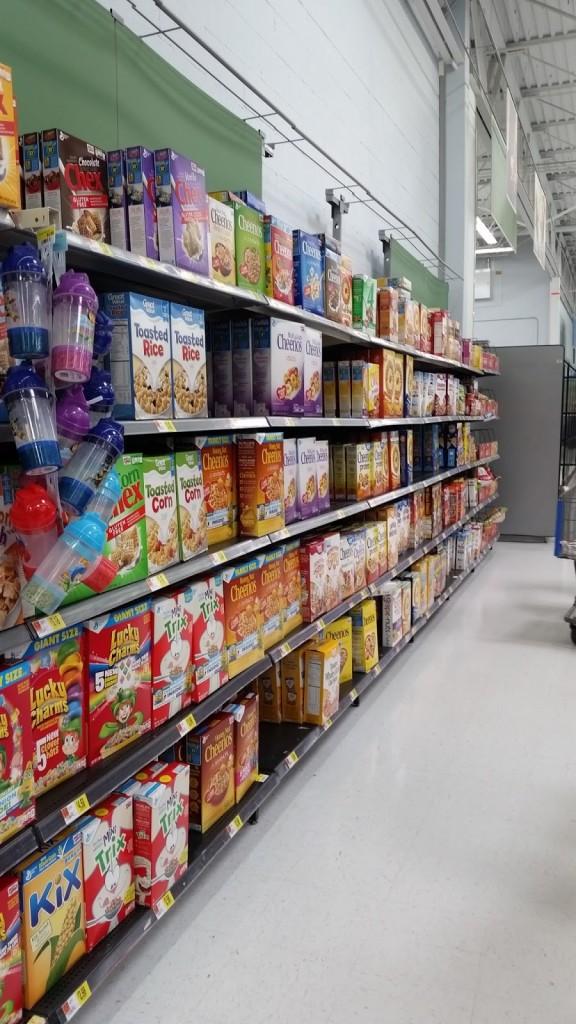 walmart cereal
