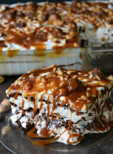 snickers ice cream sandwich cake
