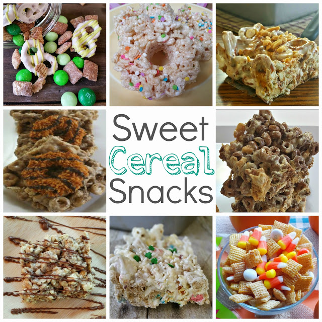 sweet cereal snacks