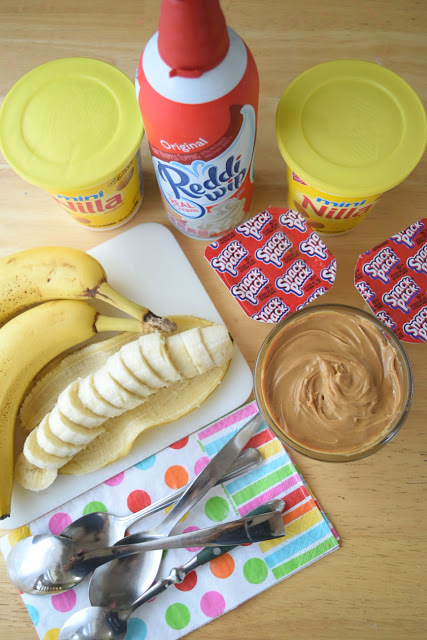 peanut butter banana cream pie snack cup