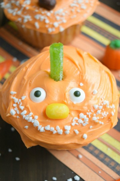 Chumpkin the Pumpkin Cupcakes