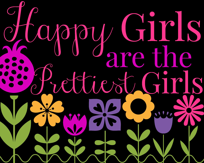 HappyGirlsPrintable