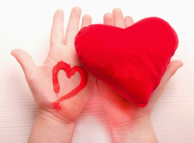 i stock heart and hands photo