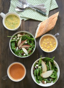 Progresso Bistro Cups & Fall Spinach Salad