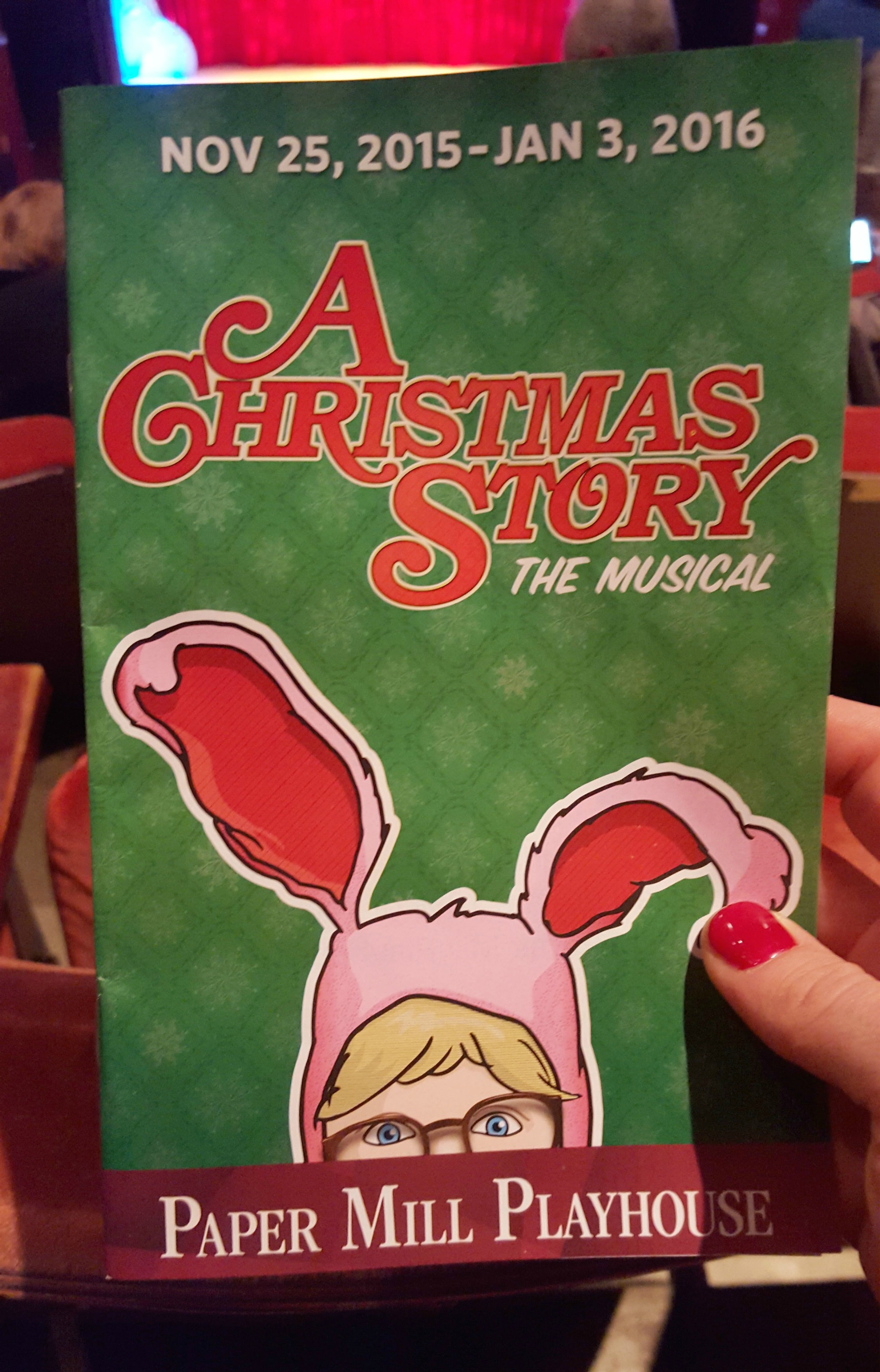 A Christmas Story Playbill