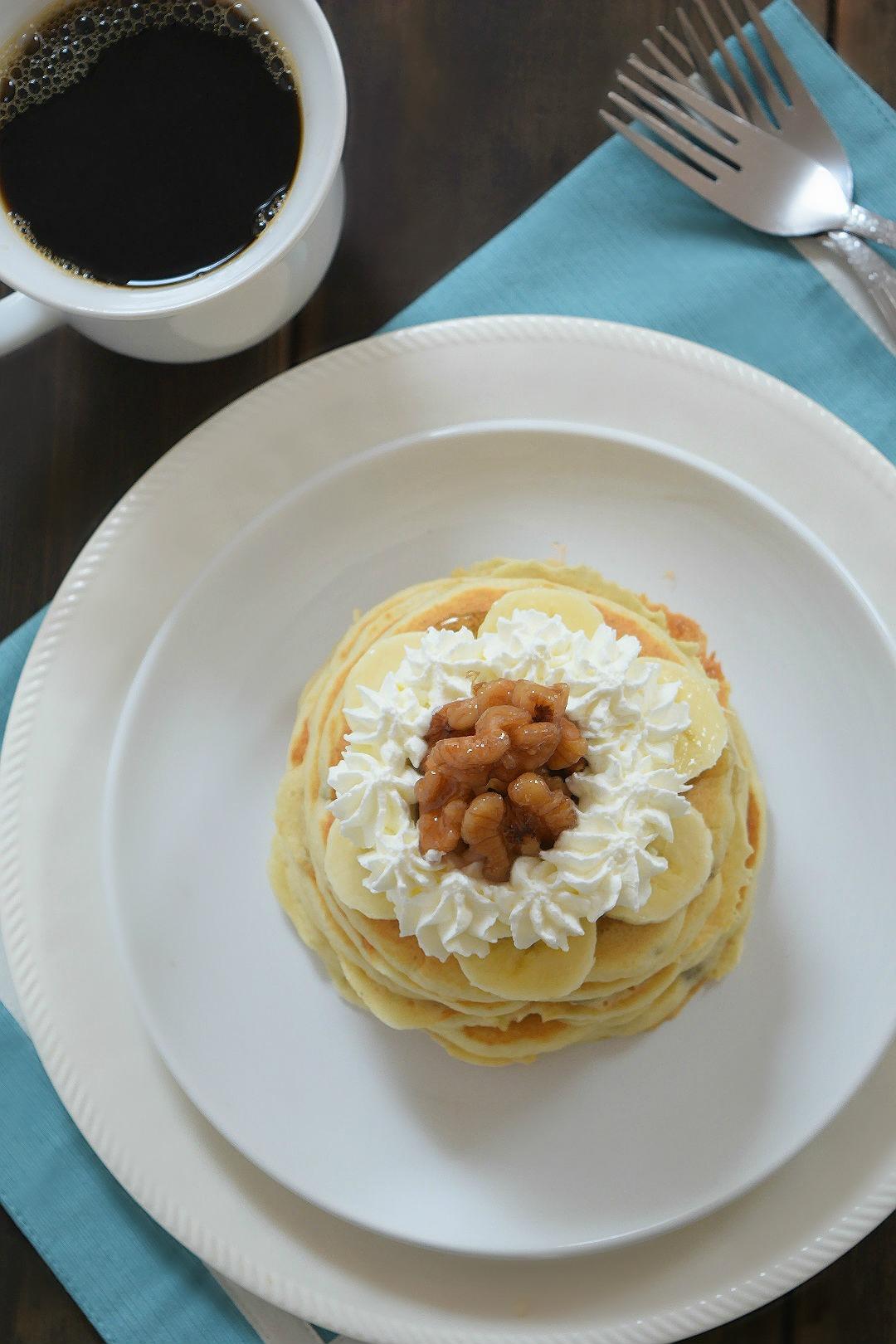pancakeswithhomemadewhippedcream