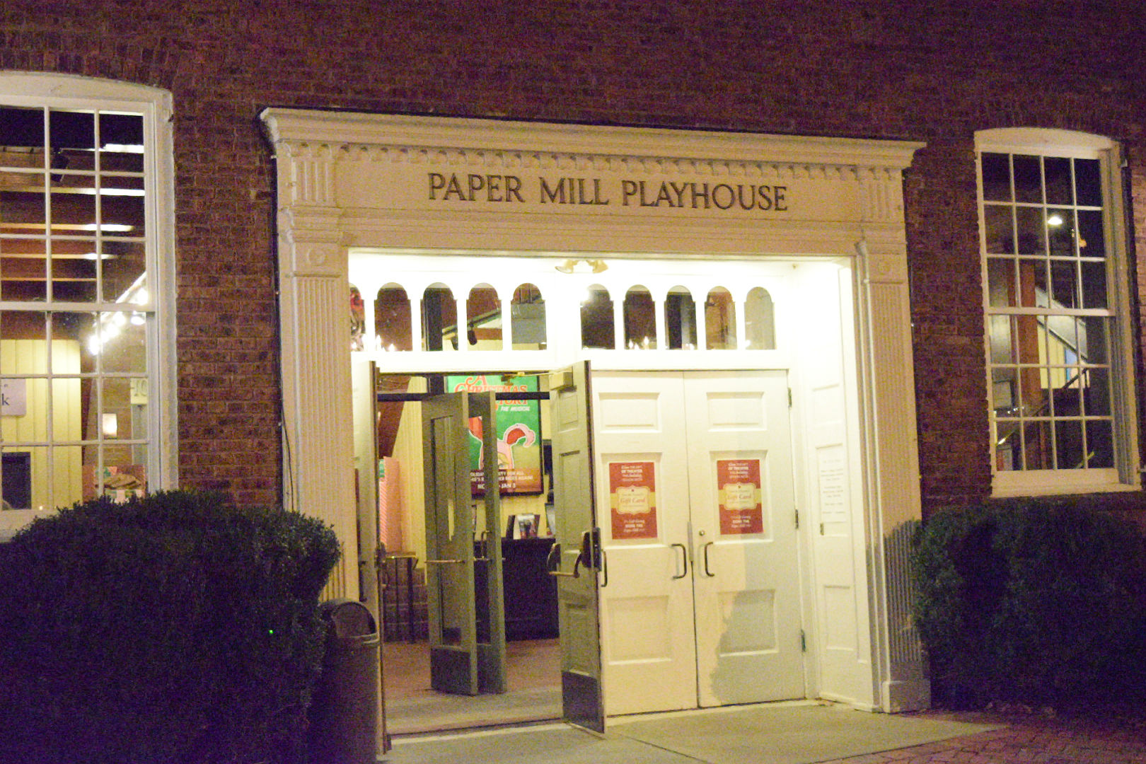 papermill play house brick building