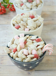 Peppermint Muddy Buddies Recipe