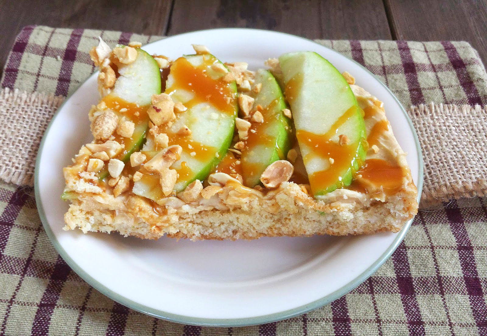 apple peanut butter cheesecake bars