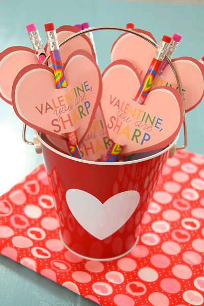 Valentine Pencil Topper