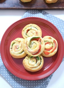 Turkey and Herb Pinwheels