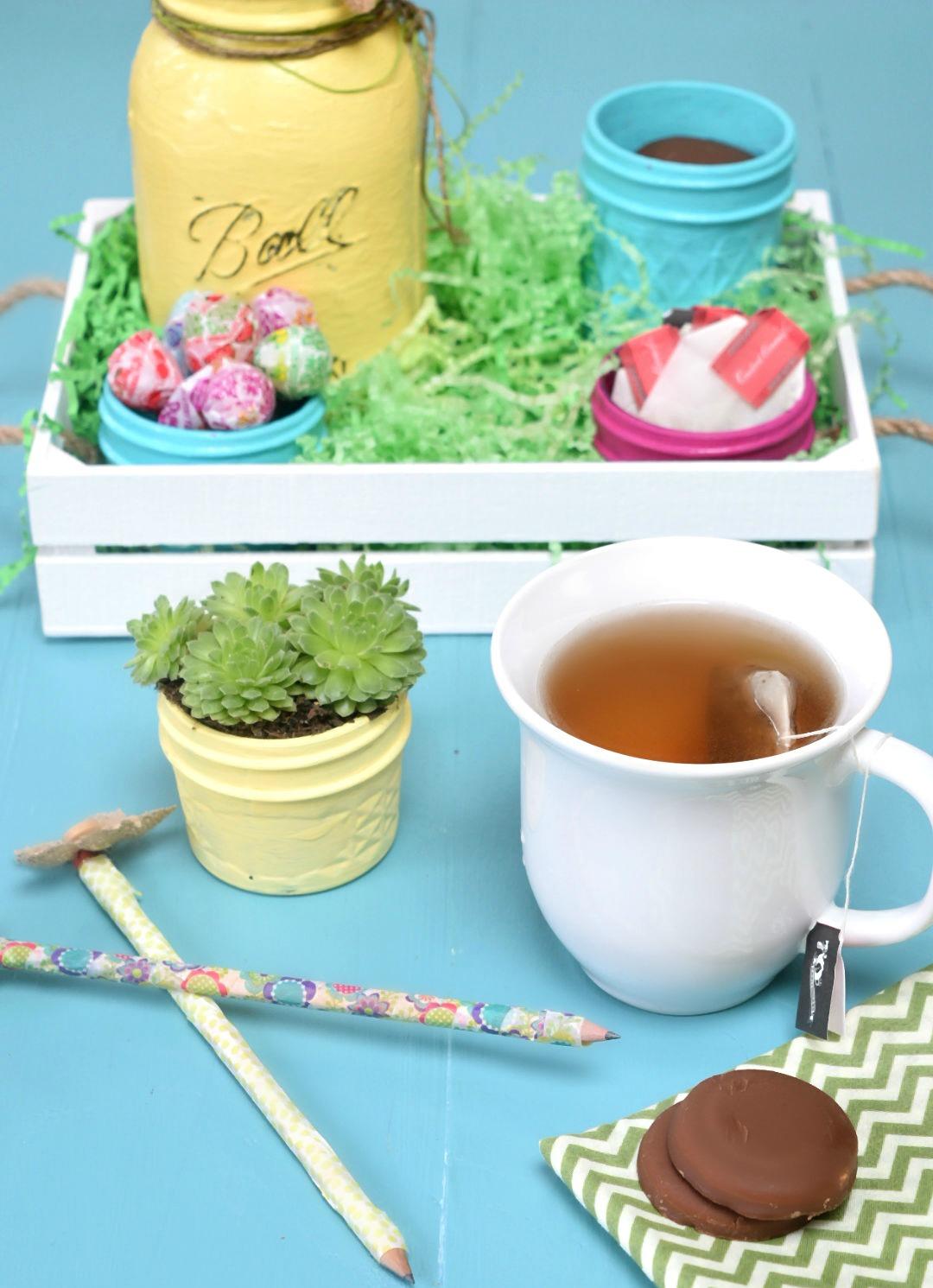Mason Jar Gift Basket - Three Kids and a Fish