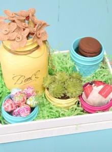Mason Jar Gift Basket