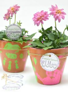 Mother's Day Plant Gift Idea + Printable