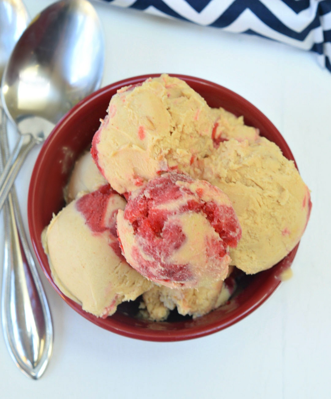 bowl of no churn ice cream