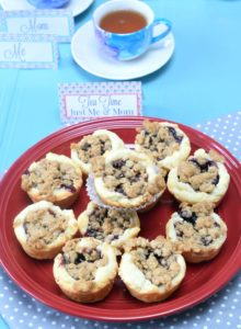 Jam Tartlets & Mothers Day Tea Printables