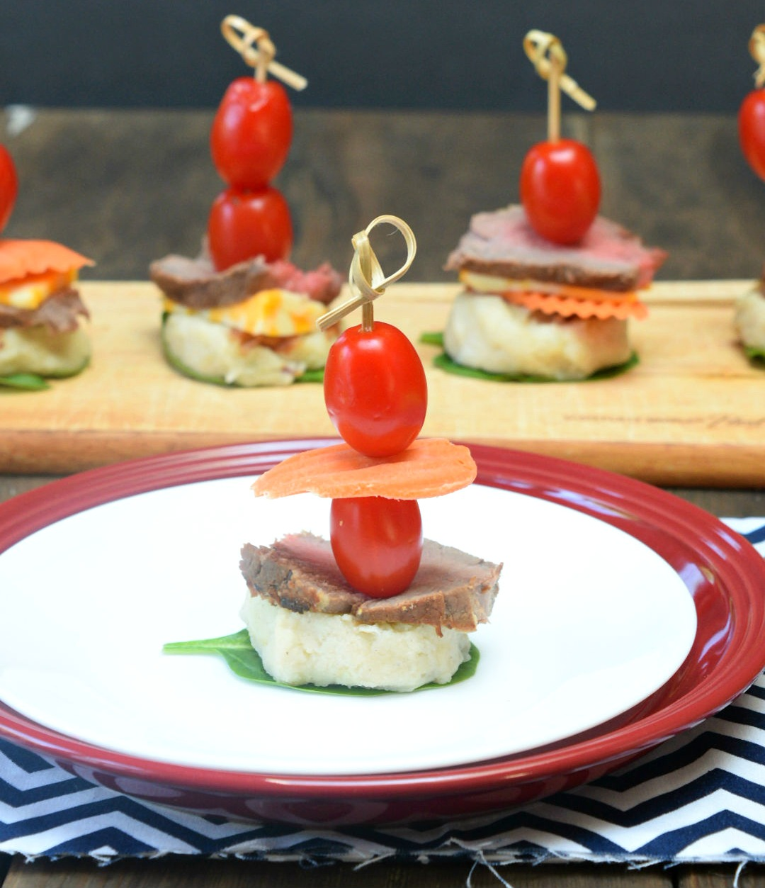 steak and potato bites