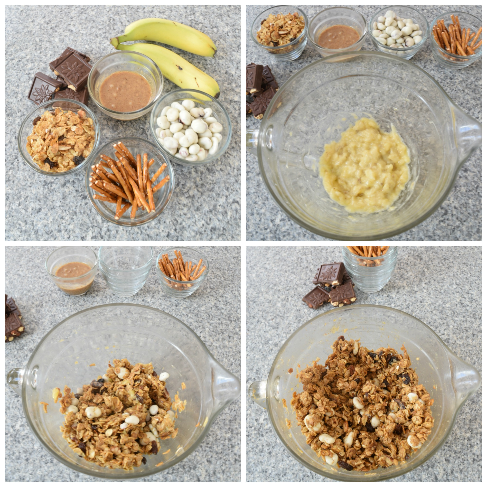 ingredients for no bake cereal bites