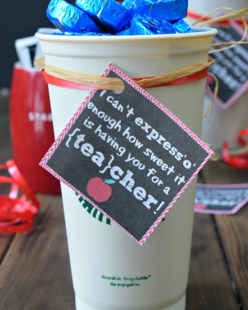 I can't expresso enough how sweet it is having you for a teacher!