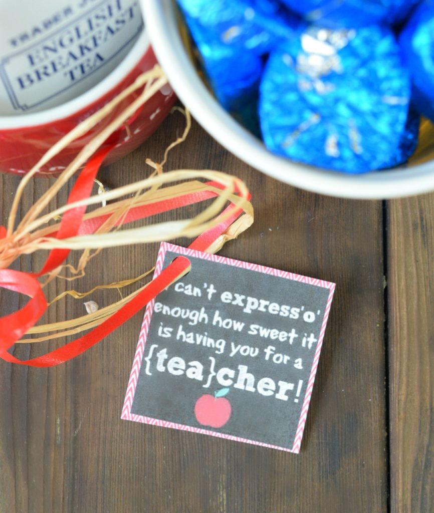 sky view of teacher printable label