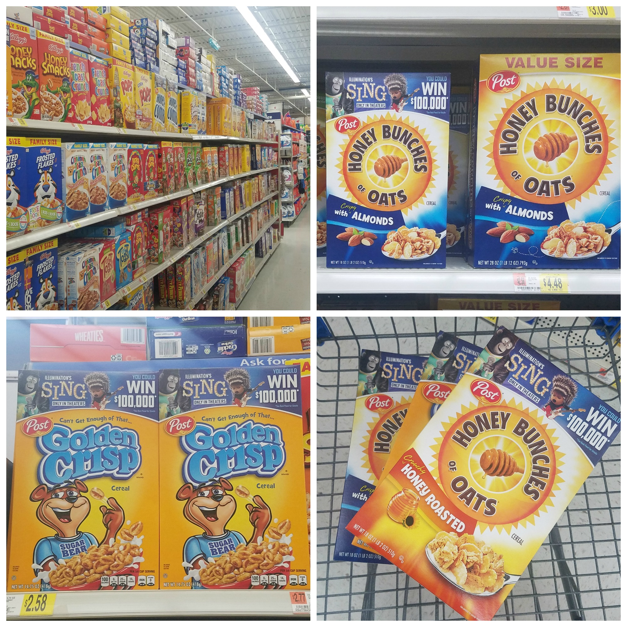 in store photo cereal
